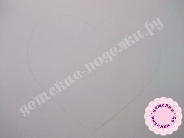 Валентинка своими руками из бумаги мастер класс