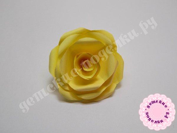 Как сделать розу из бумаги - мастер-класс с пошаговыми фото