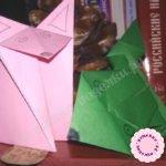Лягушка оригами — пошаговый мастер-класс с фото