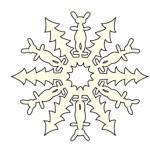 Снежинки оригами: как вырезать из бумаги снежинку