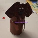 Подставка для карандашей «Собачка»