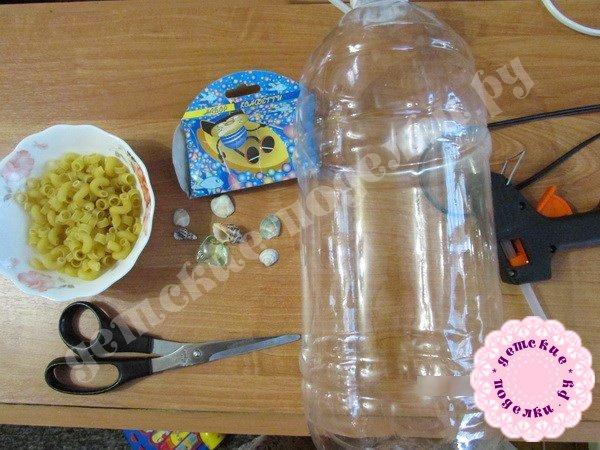 Фоторамка из пластиковой бутылки