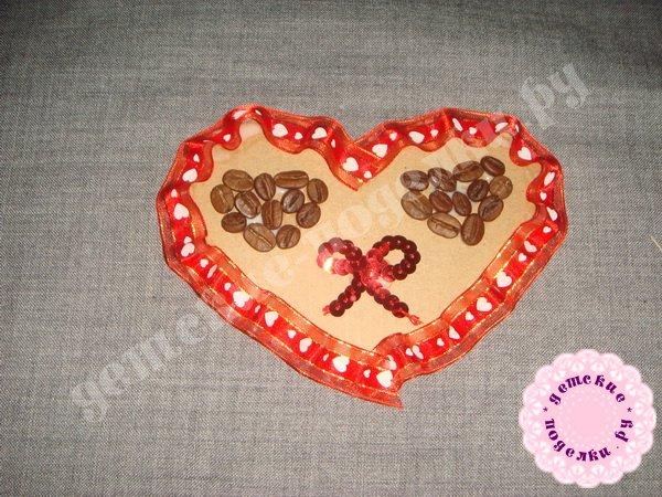 Валентинка из подручных материалов - мастер-класс с пошаговыми фото