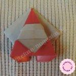 Дед Мороз из бумаги в технике оригами своими руками