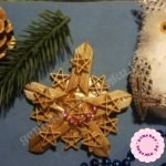 Снежинка из макарон — мастер-класс пошагово с фото