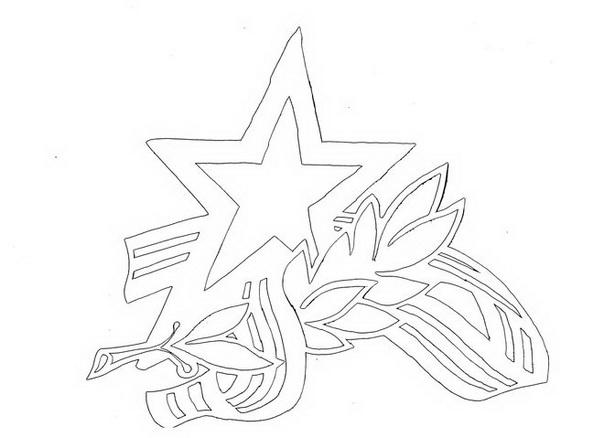 Открытка киригами на 23 февраля своими руками
