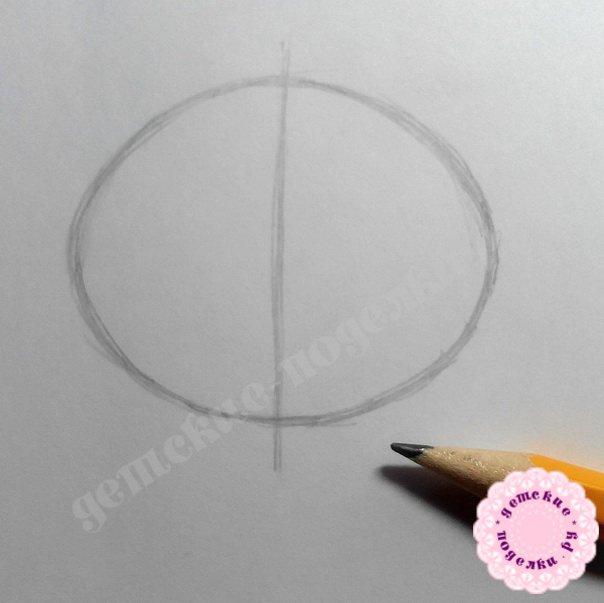 Как нарисовать кота в тыкве цветными карандашами поэтапно для начинающих и детей