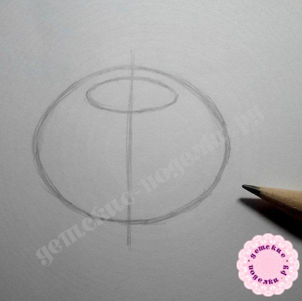Как нарисовать кота в тыкве цветными карандашами поэтапно