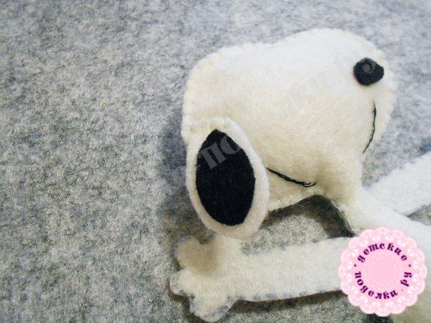 Как сделать собачку из фетра своими руками