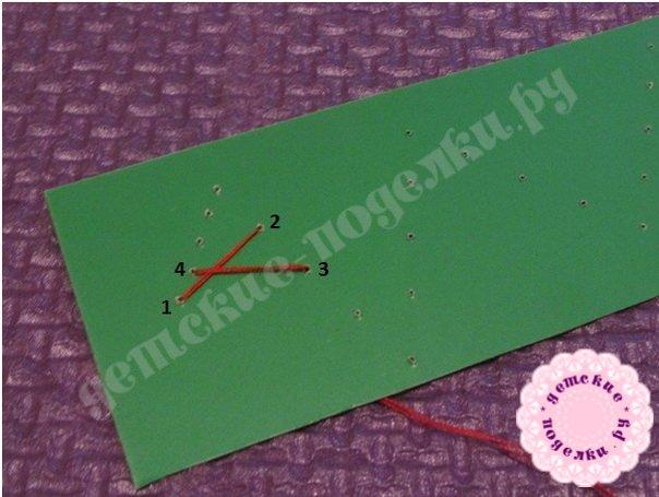 Закладка в технике изонить. Мастер-класс пошагово с фото