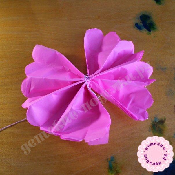 Цветок из бумаги своими руками как сделать