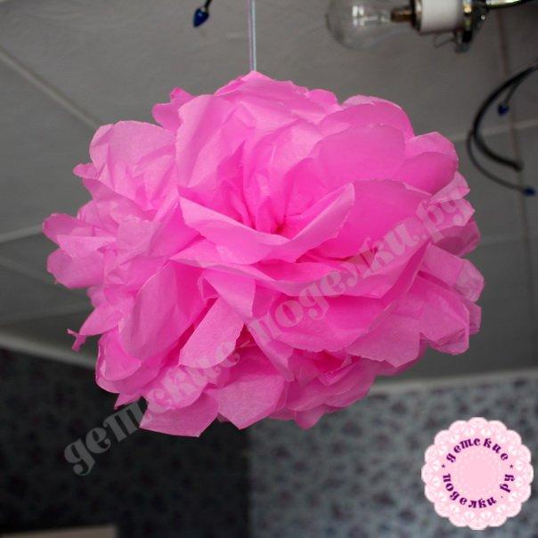 Цветок из гофрированной бумаги своими руками как сделать